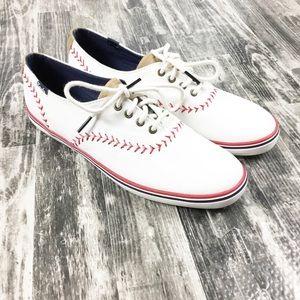 Keds Baseball Shoes Size 8 M Women's New White
